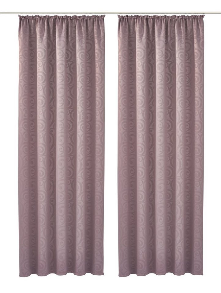 Vorhang, my home Selection, »Jalu« (2 Stück) in taupe
