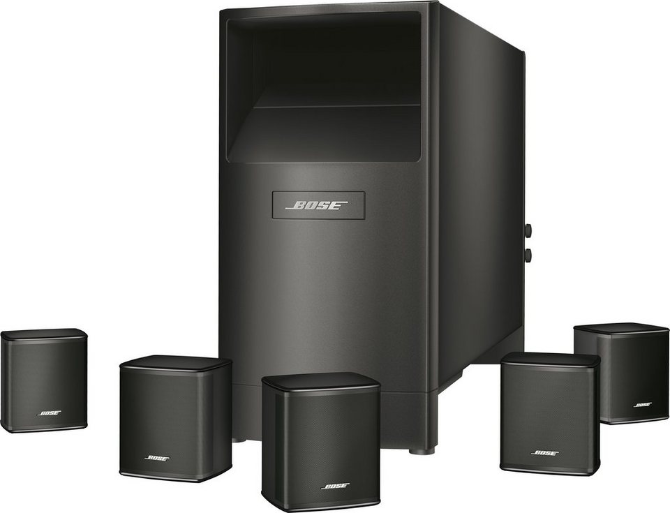 bose acoustimass 6 series v home cinema lautsprecher system online kaufen otto. Black Bedroom Furniture Sets. Home Design Ideas