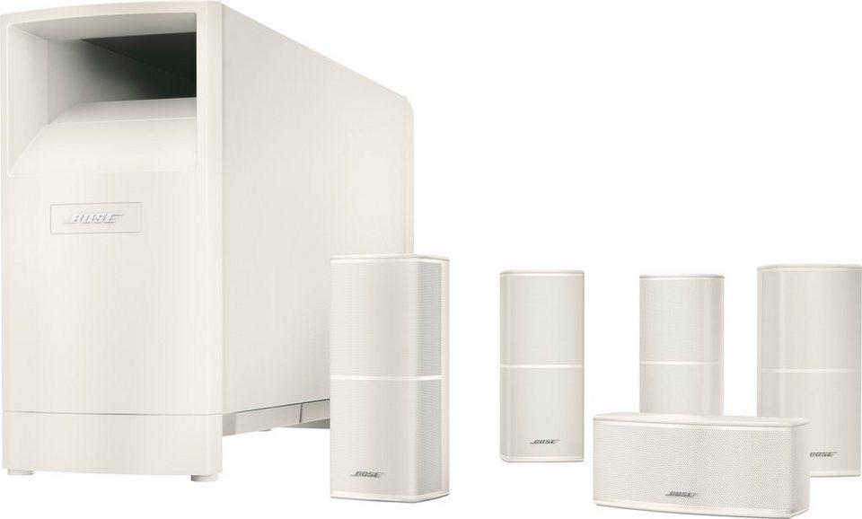 Bose® Acoustimass® 10 Series V Home Cinema Lautsprecher System in weiß