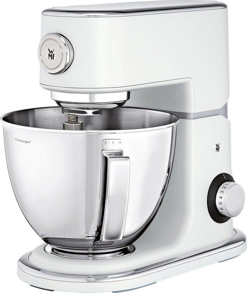 WMF Profi Plus Küchenmaschine, mit 5 Liter Rührschüssel aus Cromargan®, 1000 Watt in weiß