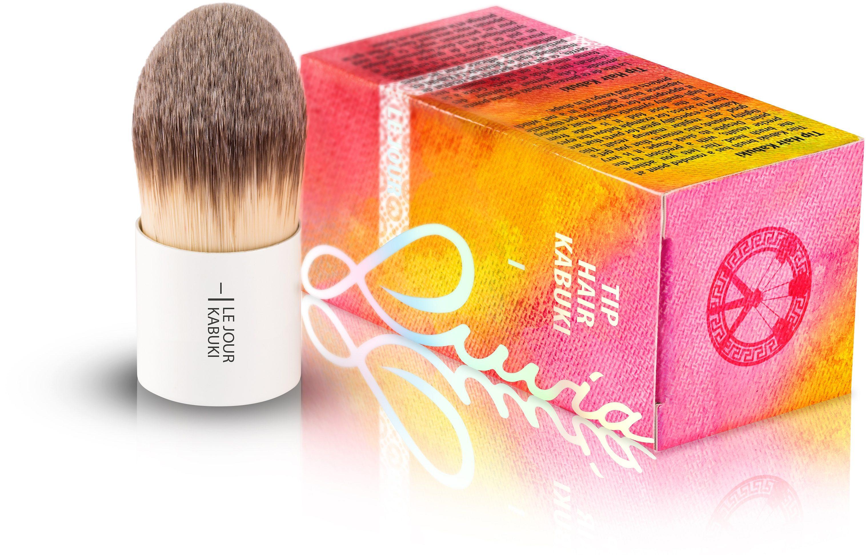 Luvia Cosmetics, »Le Jour - I Tip Hair Kabuki«, Veganer Kabuki Kosmetikpinsel