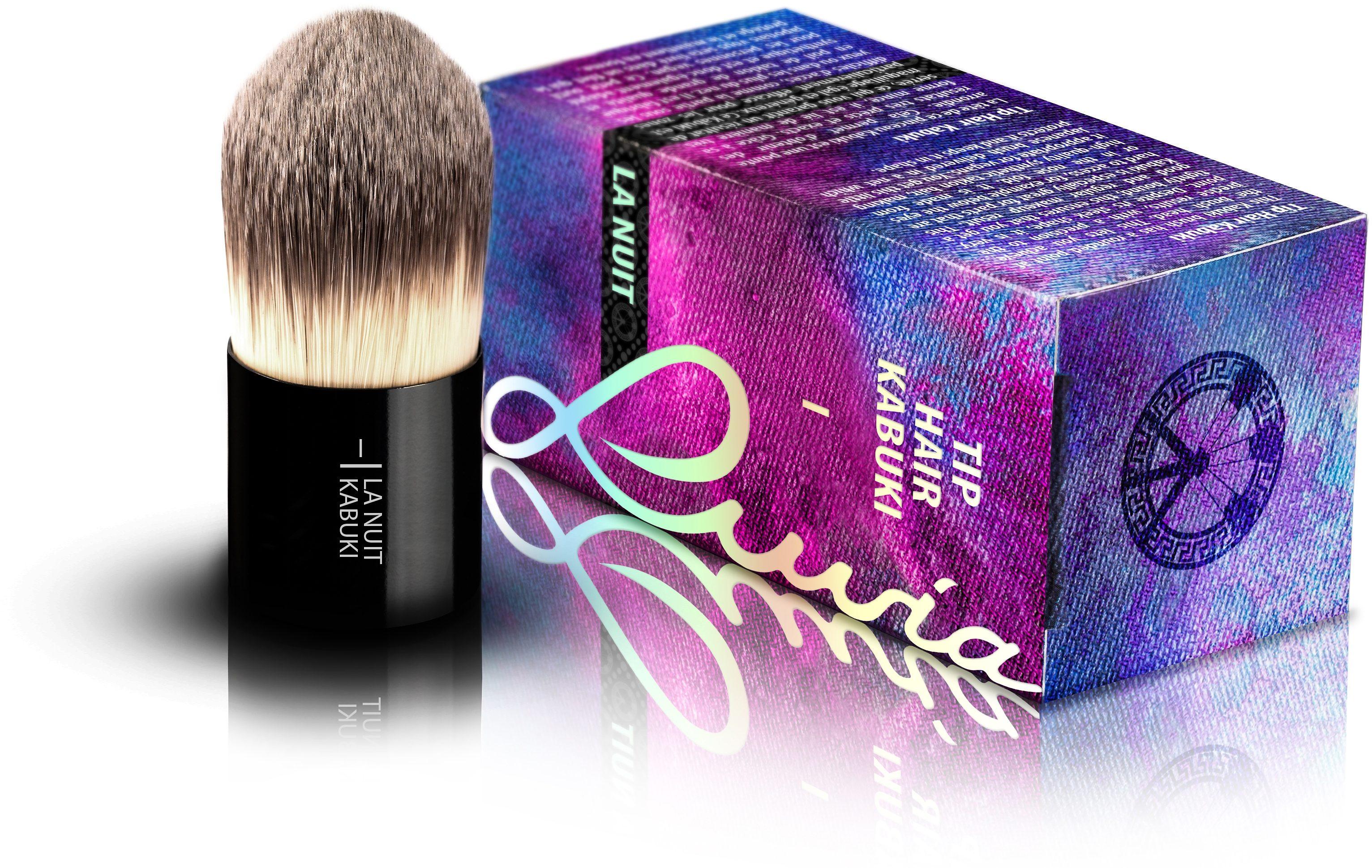 Luvia Cosmetics, »La Nuit - I Tip Hair Kabuki«, Veganer Kabuki Kosmetikpinsel