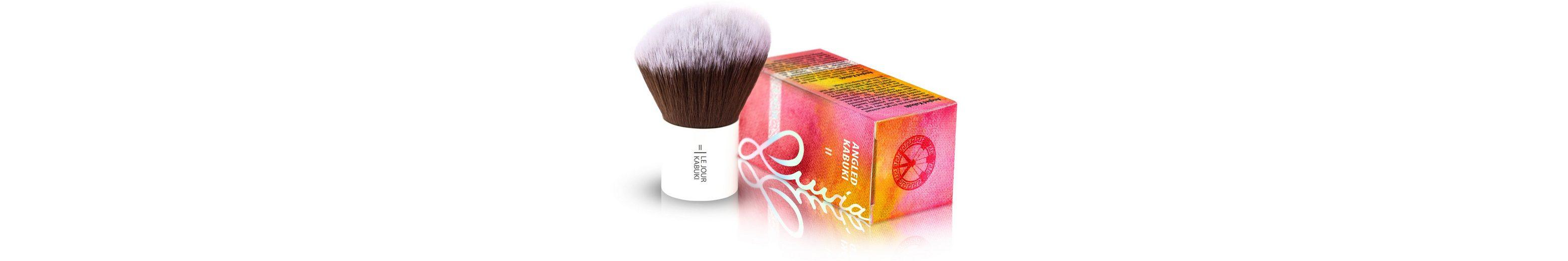 Luvia Cosmetics, »Le Jour - II Angled Hair Kabuki«, Veganer Kabuki Kosmetikpinsel