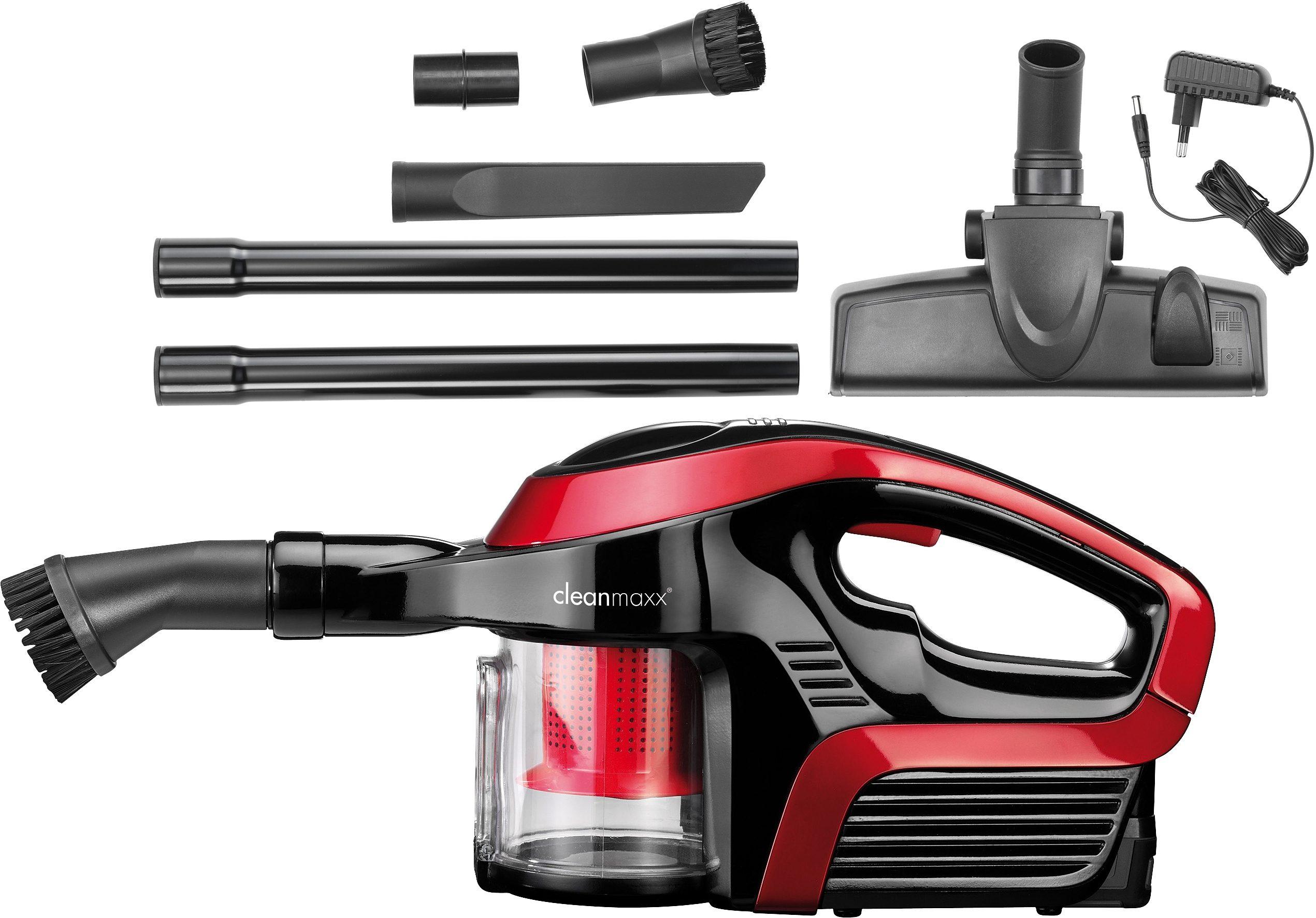 Clean Maxx Akku-Handsauger Sensation, 120 Watt, beutellos, mit Zyklon-Technologie