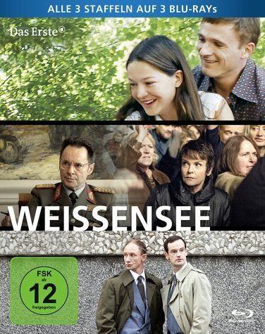 Blu-ray »Weissensee - Alle drei Staffeln auf 3 Blu-rays...«
