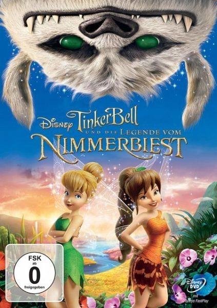 DVD »Tinkerbell und die Legende vom Nimmerbiest«