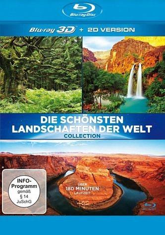 Blu-ray »Die schönsten Landschaften der Welt (Blu-ray 3D)«