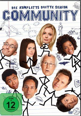 DVD »Community - Die komplette dritte Season (3 Discs)«
