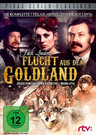 DVD »Jack London - Flucht aus dem Goldland (2 Discs)«