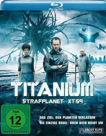 Blu-ray »Titanium - Strafplanet XT-59«
