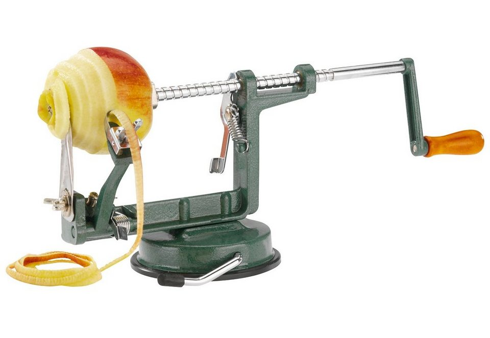 WESTMARK Apfelschäler , »Apfeltraum« in grün/silberfarben