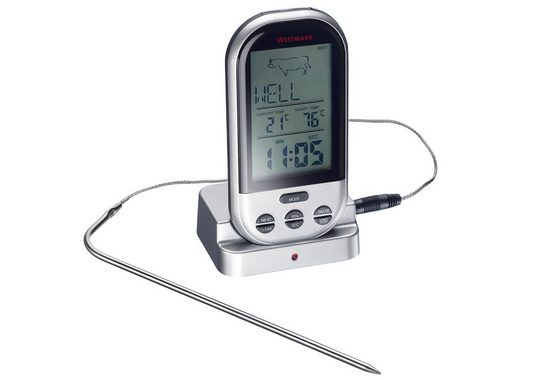 WESTMARK Bratenthermometer, digital, Edelstahl