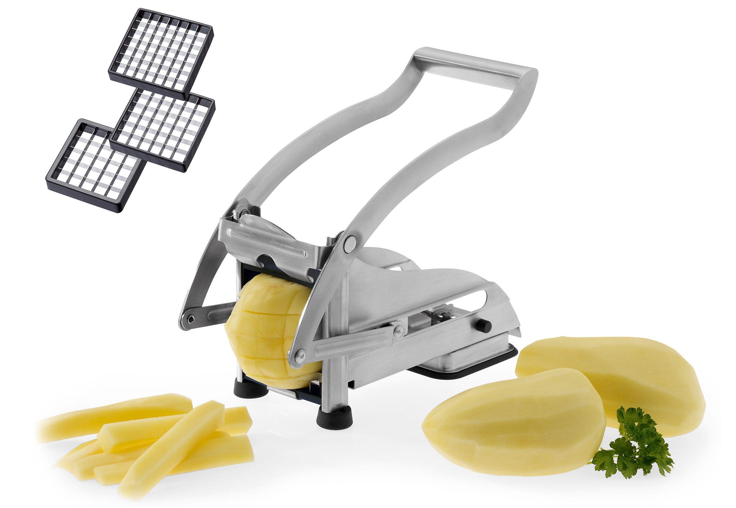 WESTMARK Pommes Frites Schneider/Gemüsestiftler, Edelstahl »Pomfri-Perfekt«