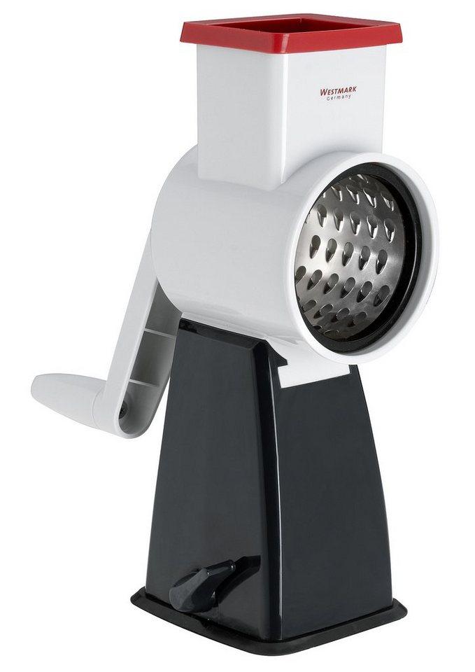 WESTMARK Reibemaschine in weiß/schwarz/silberfarben