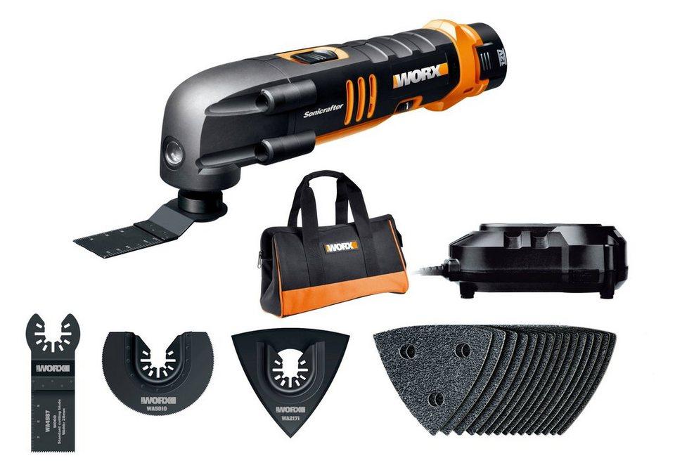 Akku-Multifunktionswerkzeug »Sonicrafter WX677« in orange