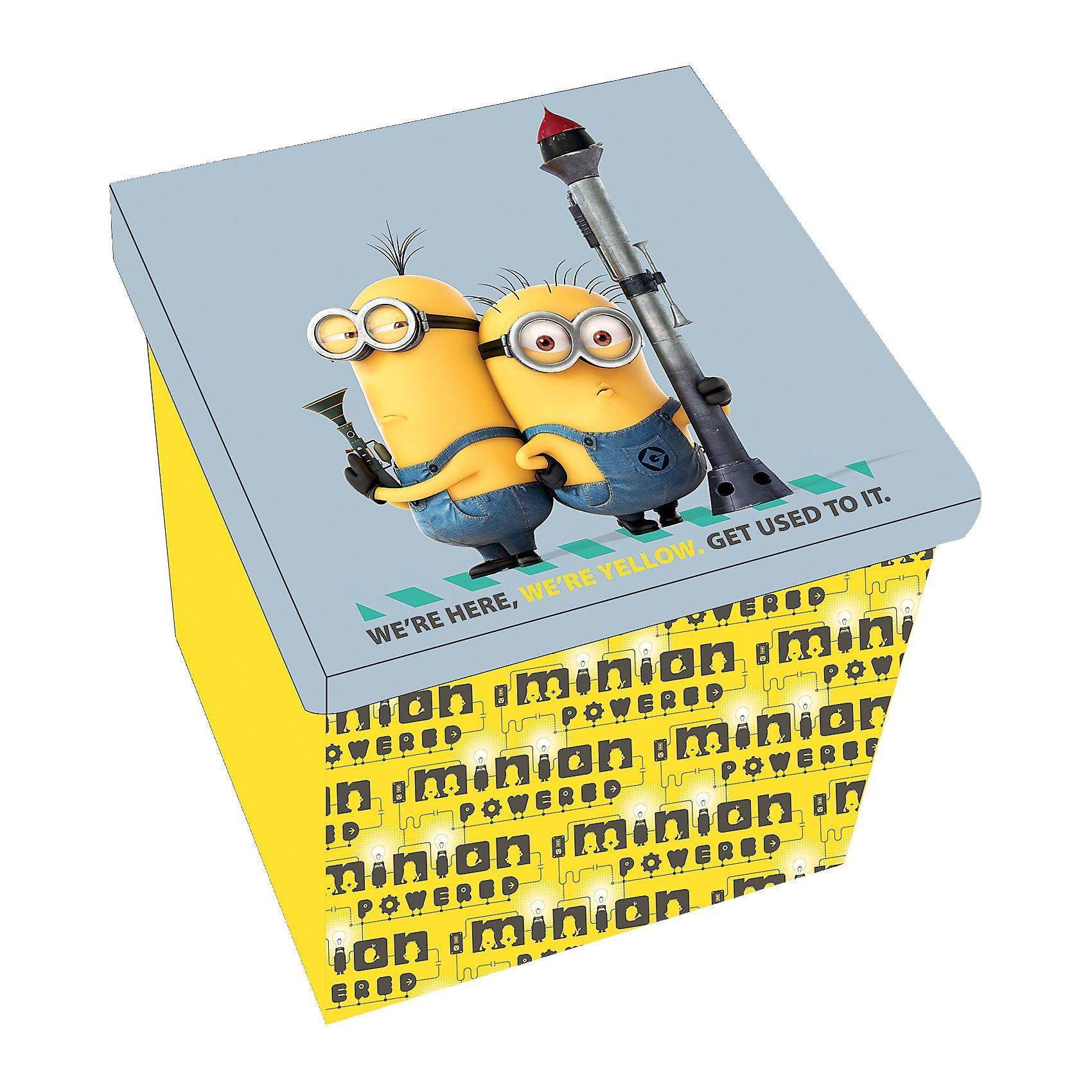 P:OS Aufbewahrungshocker Minions