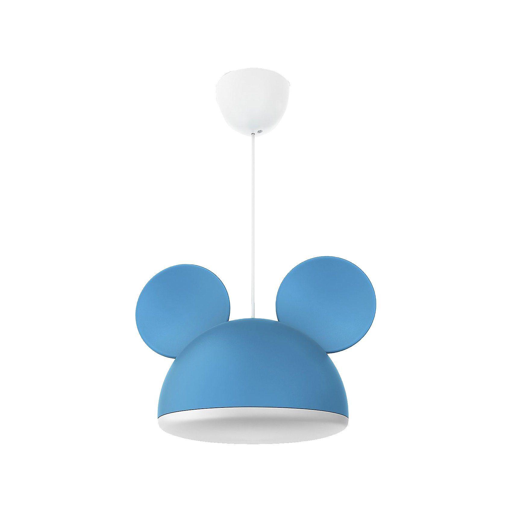 Philips Lighting Hängelampe, Mickey Mouse, blau