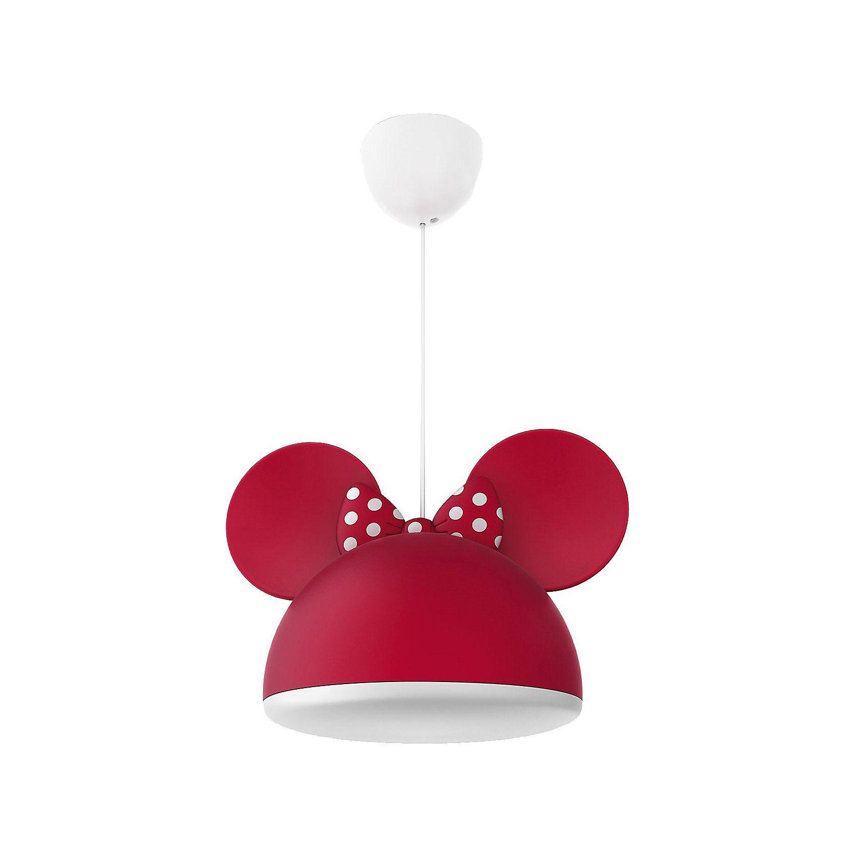 Philips Lighting Hängelampe, Minnie Mouse, rot