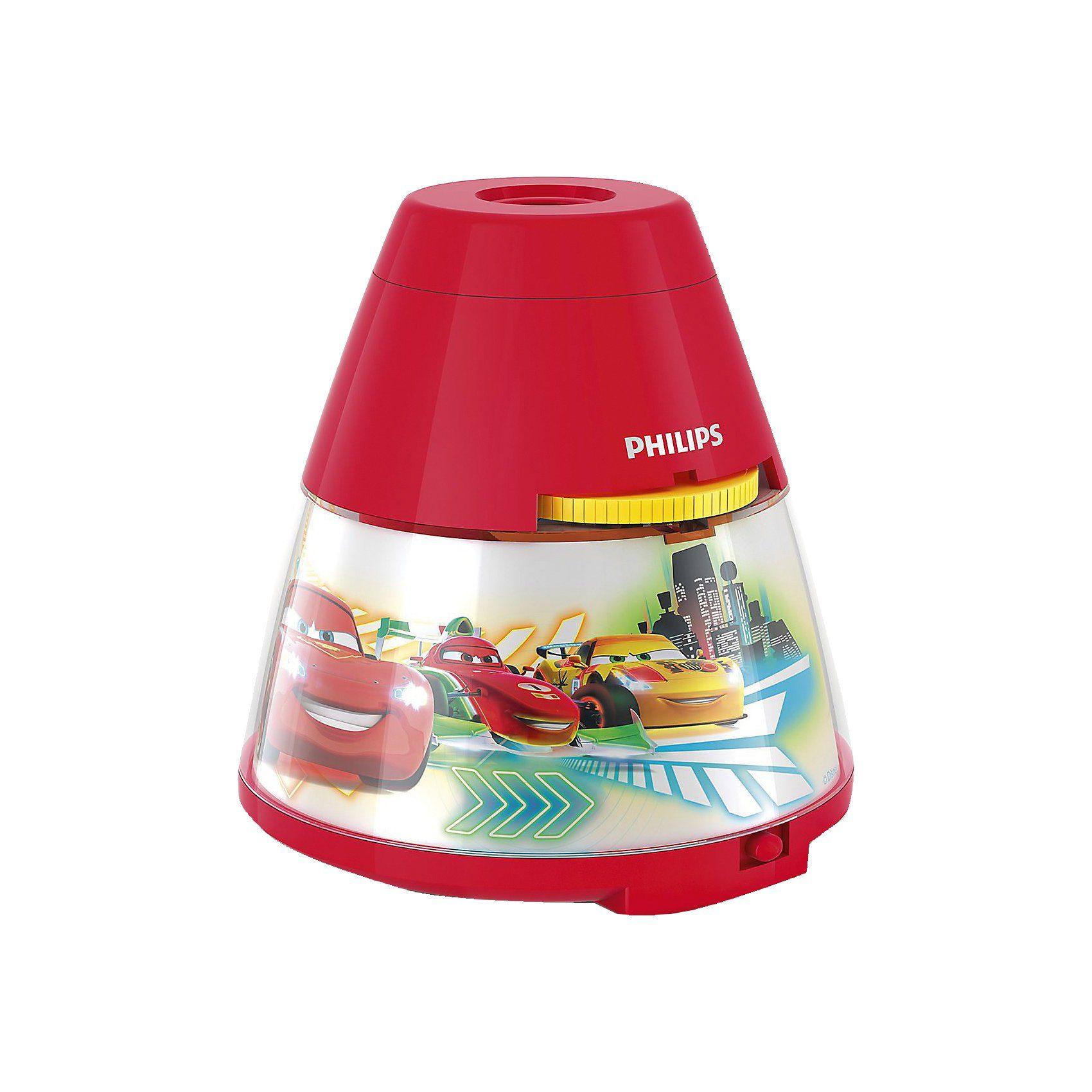 Philips Lighting Projektor Tischlampe, Disney Cars, LED