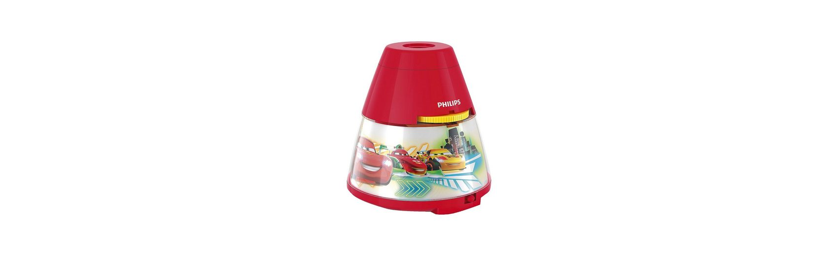 Philips Lighting Projektor Tischlampe, Disney Cars, LED