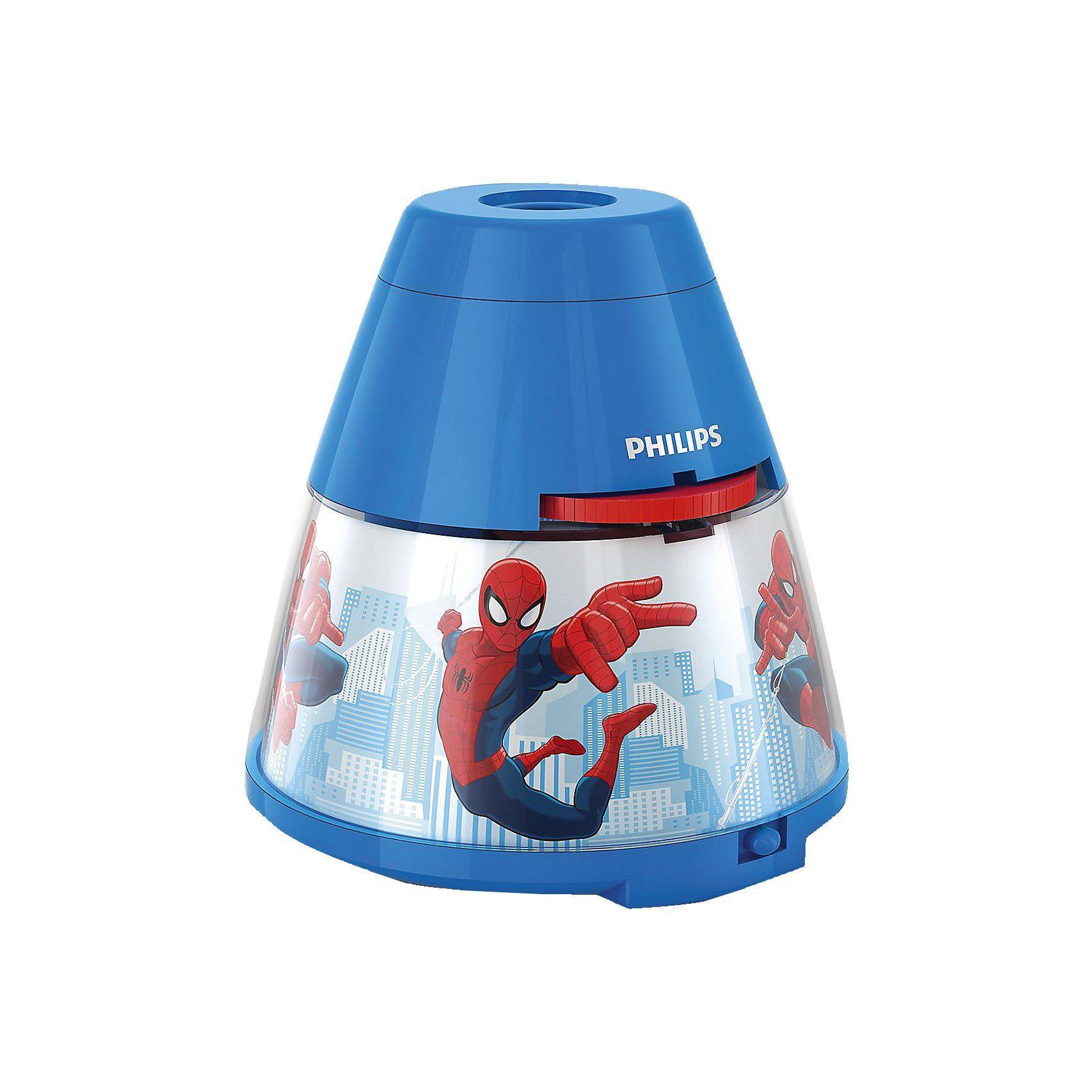 Philips Lighting Projektor Tischlampe, Spider-Man, LED