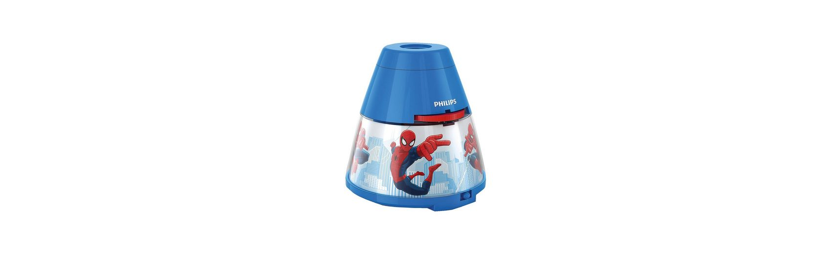 Philips Lighting Projektor Tischlampe, Spiderman, LED