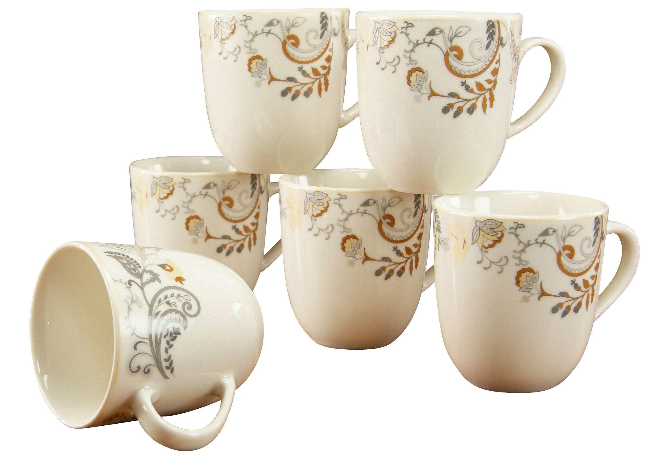 CreaTable Kaffeebecher, Premiumporzellan, »Palacio«