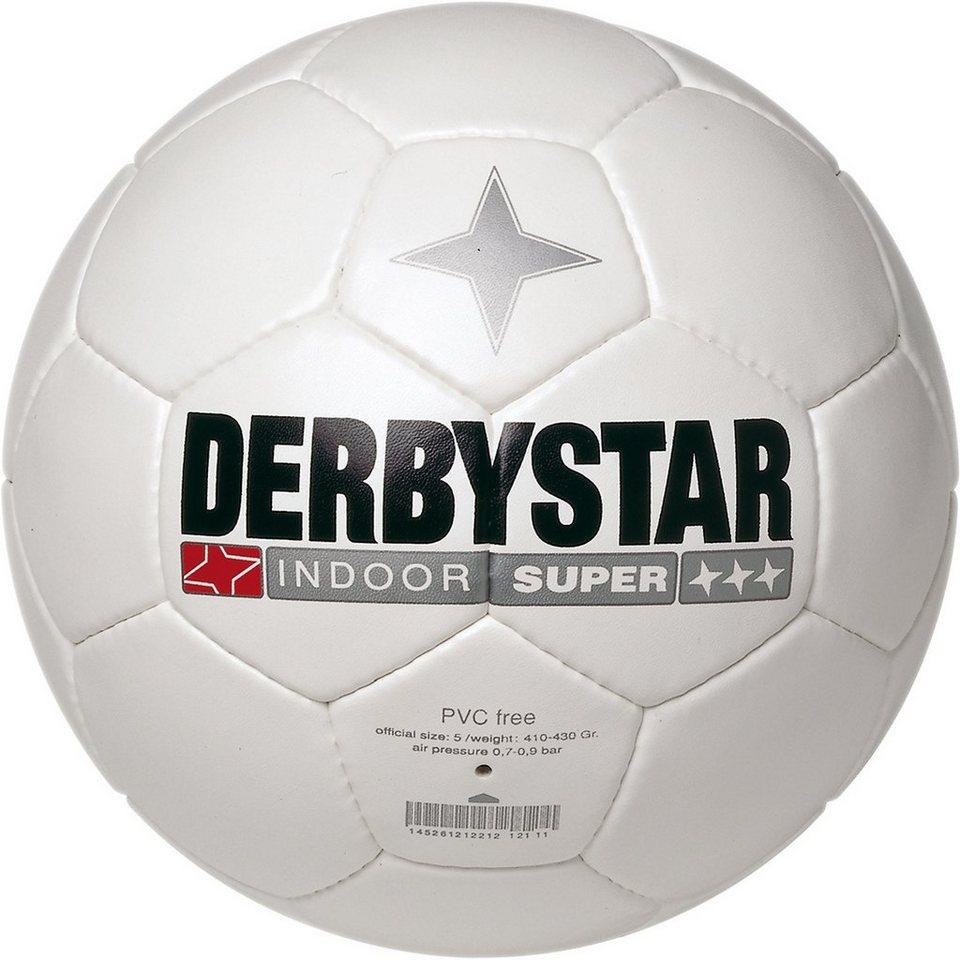 DERBYSTAR Indoor Super Fußball in weiß