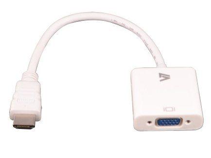 V7 HDMI »HDMI-VGA ADAPTER CABLE weiß«