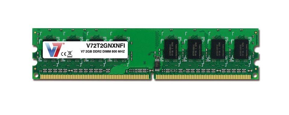 V7 DDR2-RAM »2GB DDR2 DIMM 800MHZ CL6«