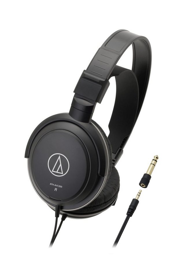 Audio-Technica Kopfhörer »ATH-AVC200« in schwarz