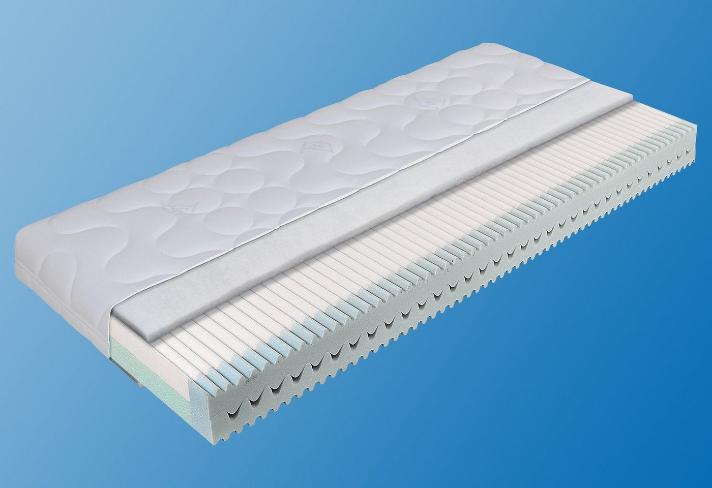 Matratzen und Lattenroste - Kindermatratze »youngStar Pro 95°C«, ADA premium, 16 cm hoch, Raumgewicht 30, (1 tlg)  - Onlineshop OTTO