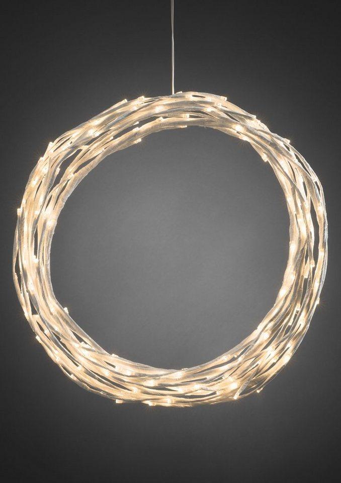 Konstsmide LED Dekoration in weiß
