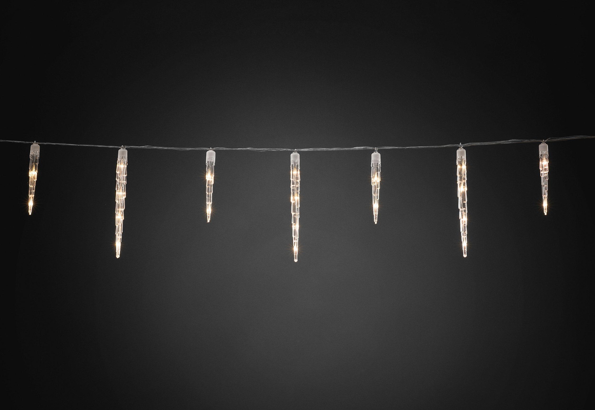 Konstsmide LED Eiszapfen Lichtervorhang
