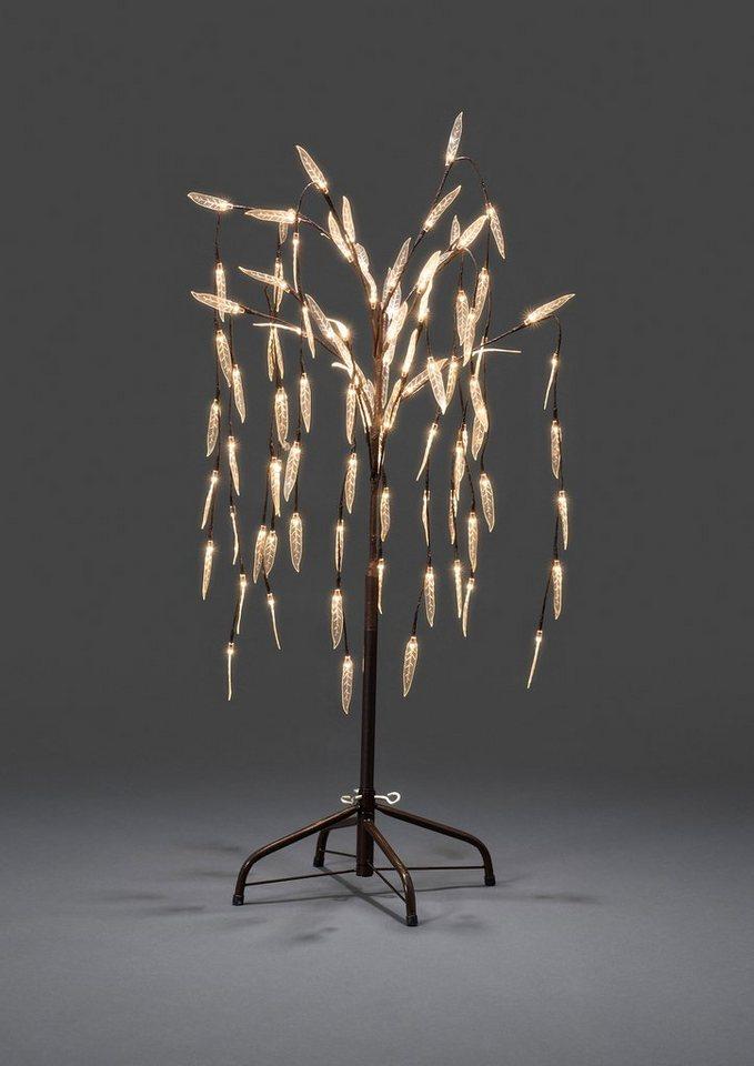 Konstsmide LED Lichterbaum in braun/transparent