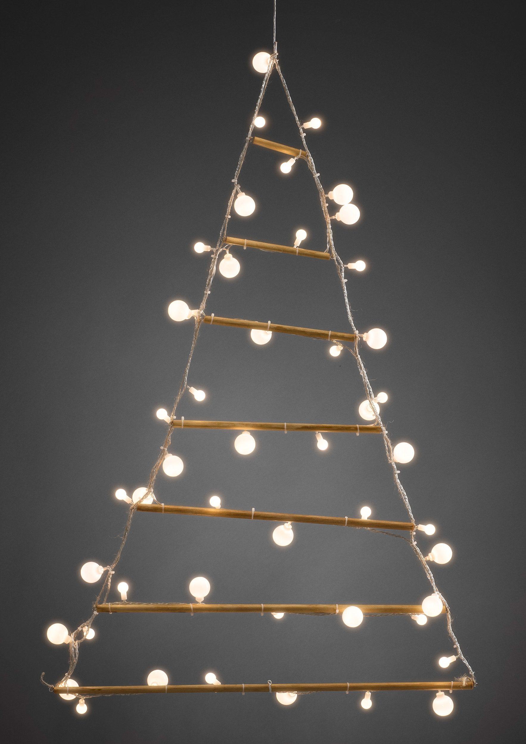 Konstsmide LED Holzpyramide