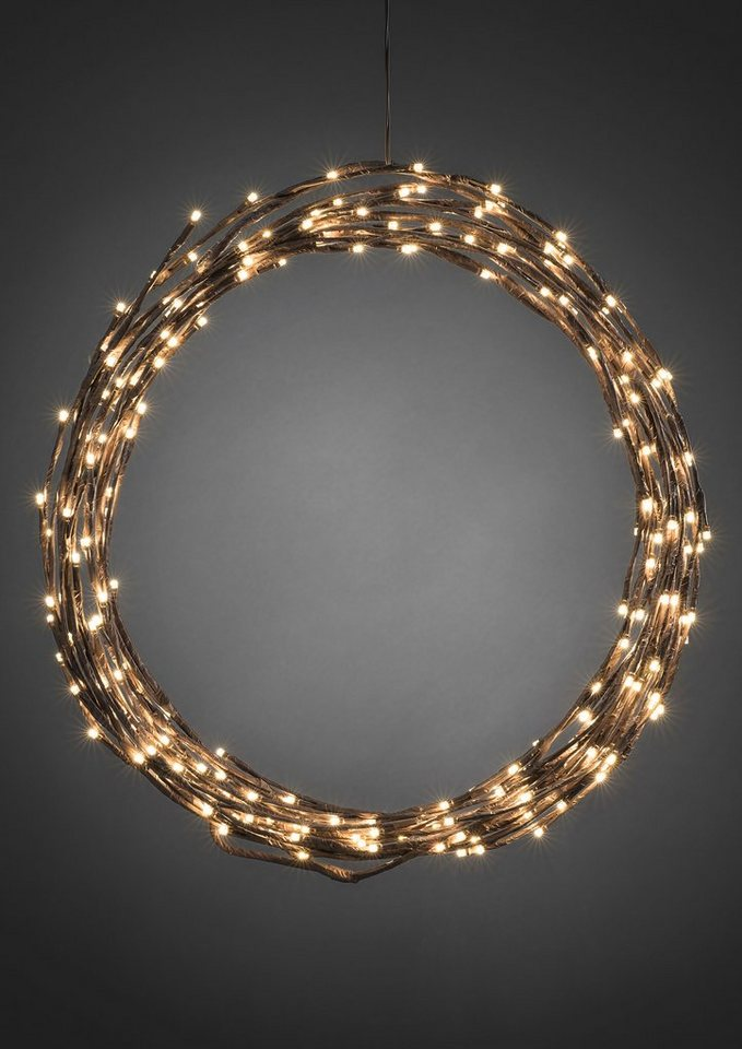 Konstsmide LED Dekoration in braun