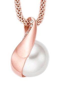Skagen, Skagen Halskette, »Agnethe, SKJ0652791« in roségoldfarben/weiß