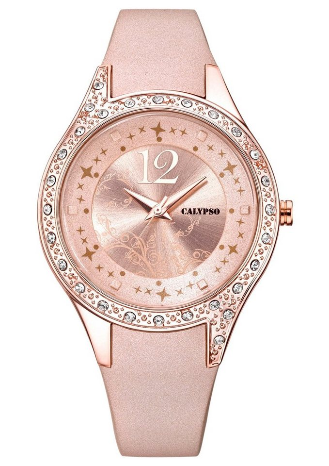 CALYPSO WATCHES Quarzuhr »K5660/2« in rosé