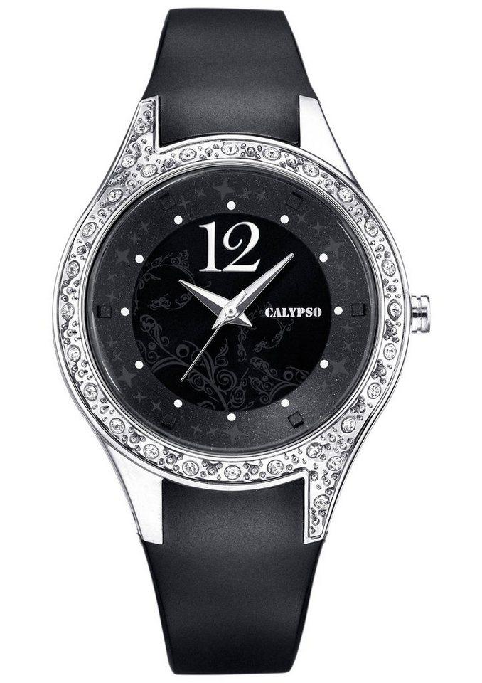 CALYPSO WATCHES Quarzuhr »K5660/4« in schwarz