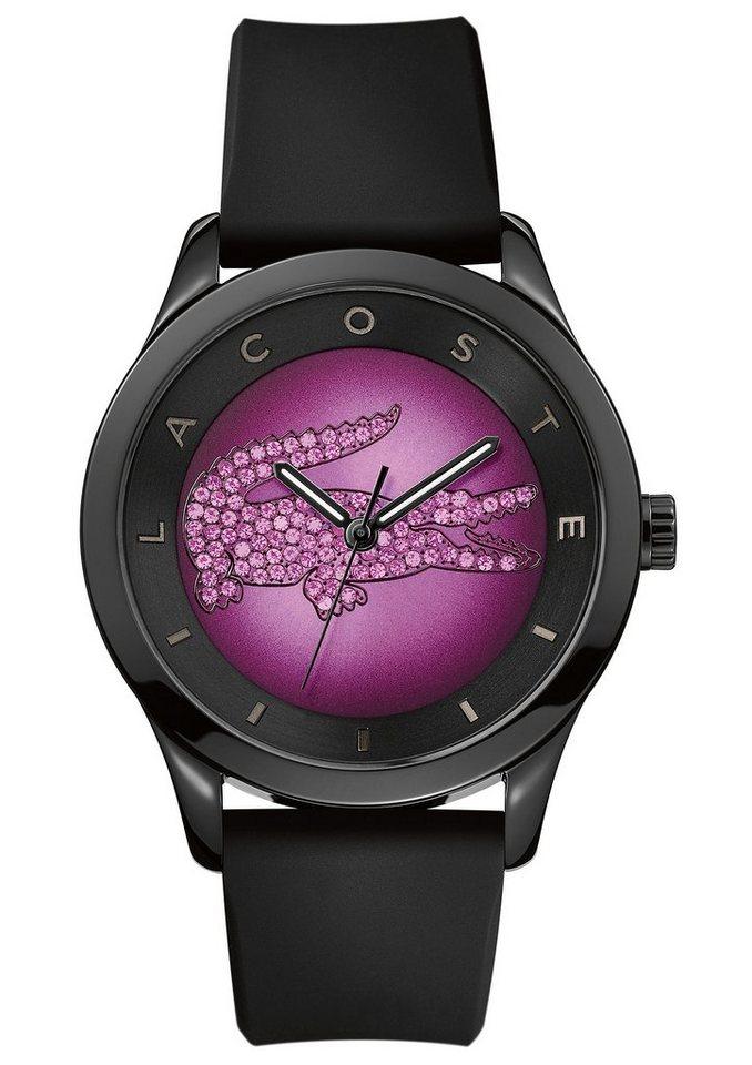 """Lacoste, Armbanduhr, """"VICTORIA, 2000918"""" in schwarz-pinkfarben"""
