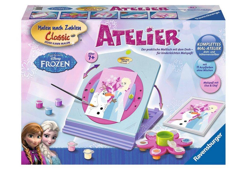 Ravensburger Malen nach Zahlen, »Disney Frozen-Atelier«