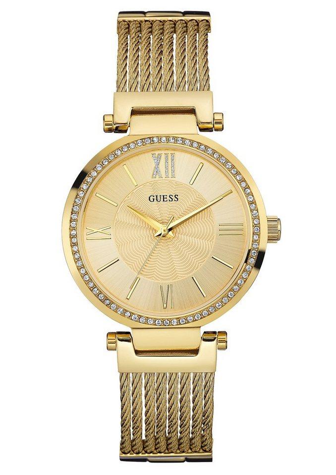 Guess Quarzuhr »W0638L2« in goldfarben