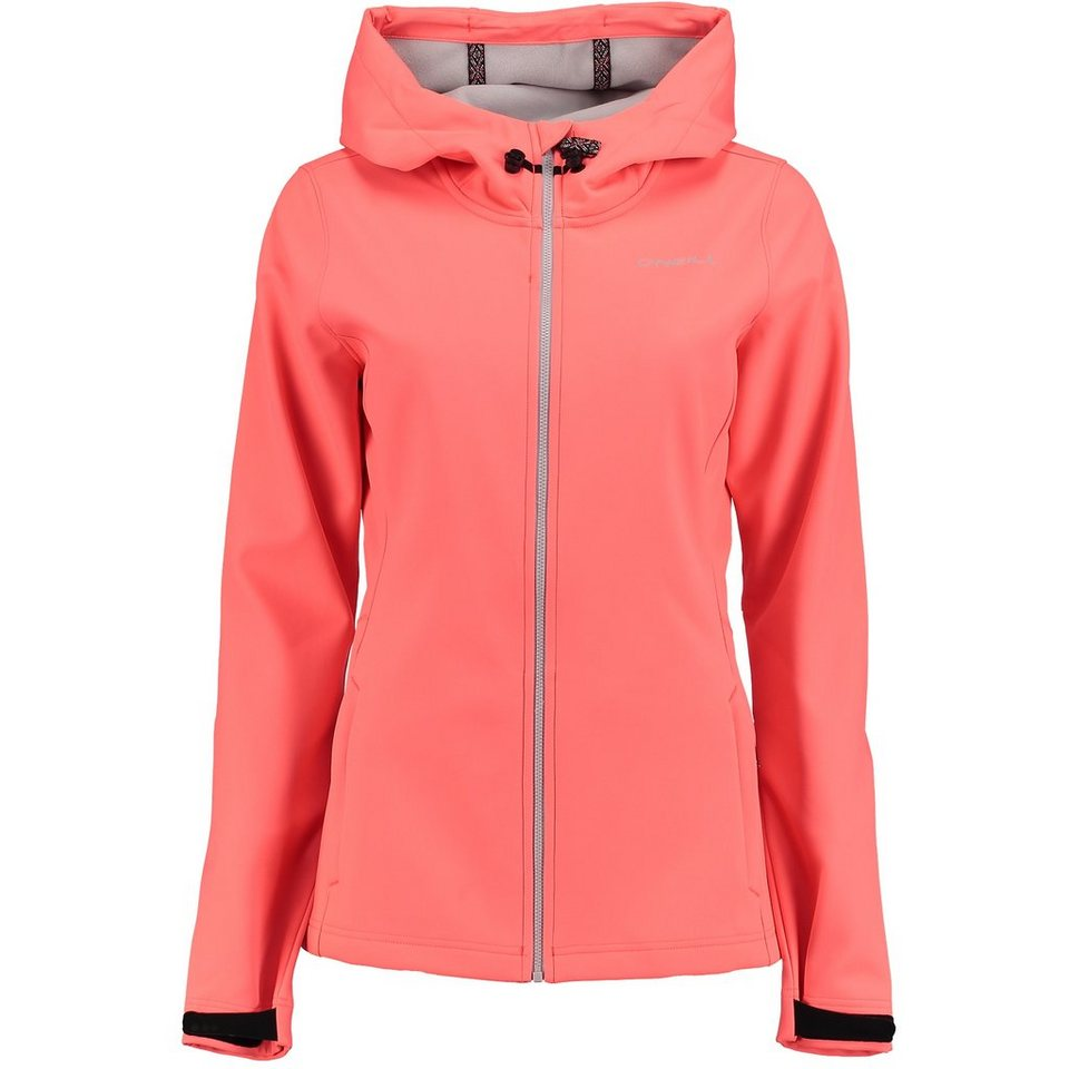 O'Neill Softshell »Solo« in Neon Pink