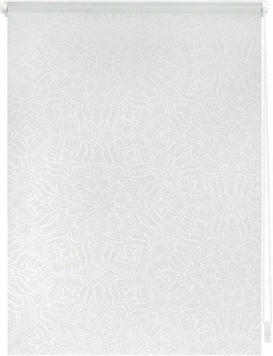 Seitenzugrollo »Klemmfix Dekor Henna«, LICHTBLICK, Lichtschutz, ohne Bohren