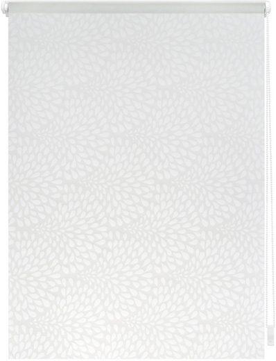 Seitenzugrollo »Klemmfix Dekor Drops«, LICHTBLICK, Lichtschutz, ohne Bohren