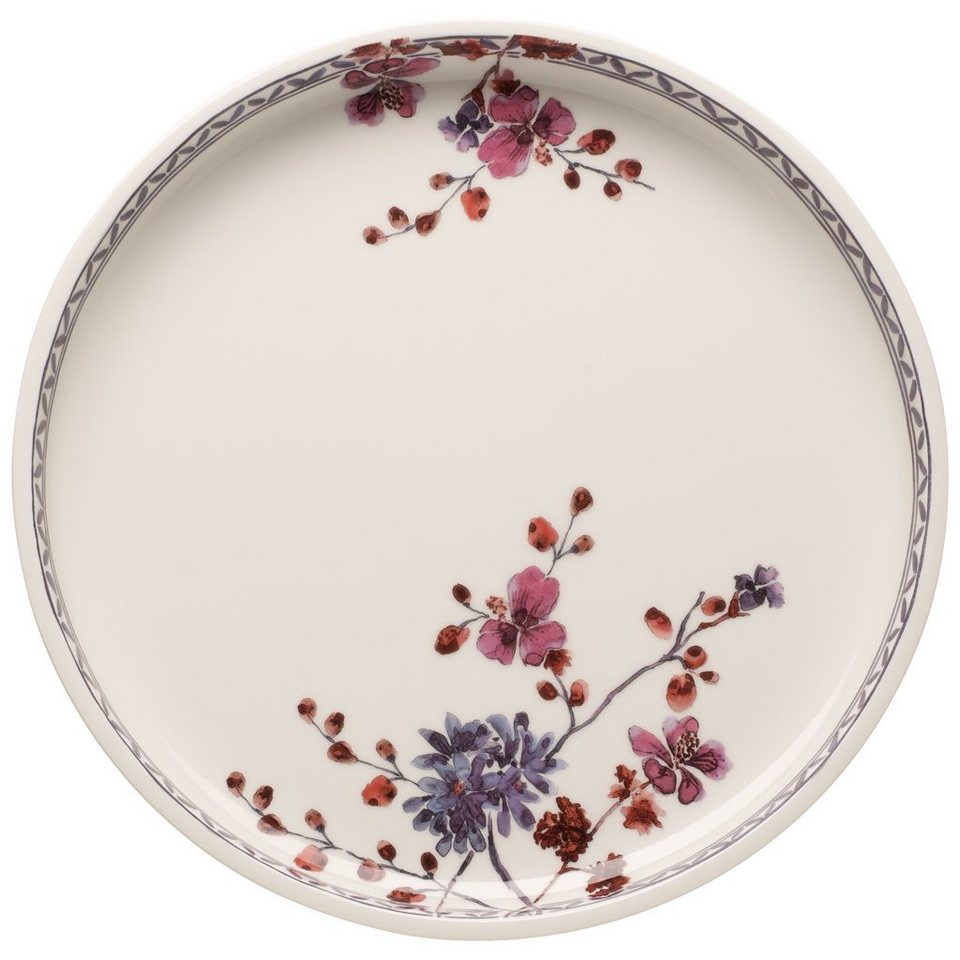 VILLEROY & BOCH Servierplatte / Top Rund »Artesano Provençal Lavendel Backformen« in Dekoriert