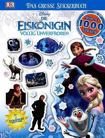 Broschiertes Buch »Disney Die Eiskönigin. Das große Stickerbuch«