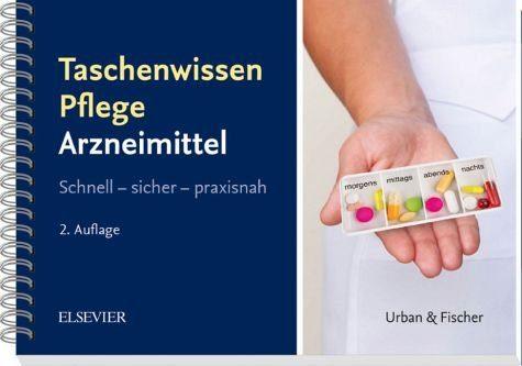 Broschiertes Buch »Taschenwissen Pflege Arzneimittellehre«