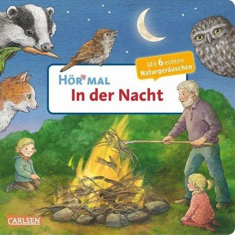 Buch mit Papp-Einband »In der Nacht / Hör mal Bd.18«